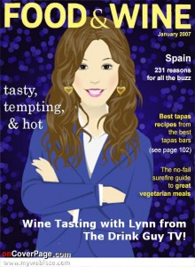 Lynn Magazine Cover Food and Wine