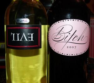Red Wine White Wine | Funny wine label