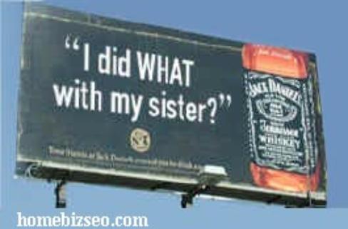 Jack Daniels funny sign