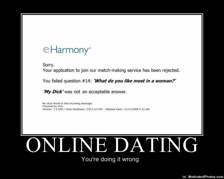 Funny Online Dating Sign