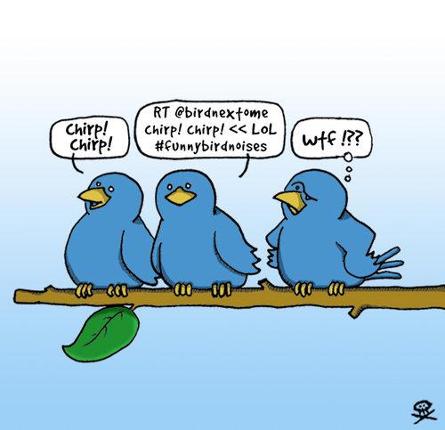 Funny Twitter Cartoon