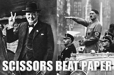 Churchill and Hitler