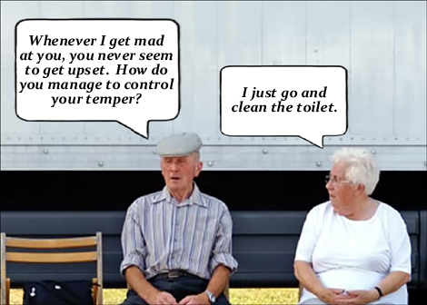 Funny Old Couple